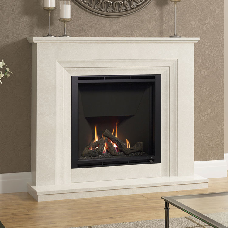 Vitalia Micro Marble Surround Grey Manila Or White