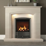Amorina Micro Marble Surround Manila Or White Elgin